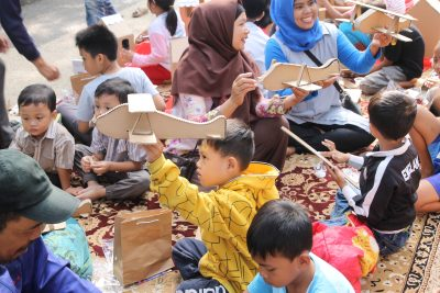 Event Library on The Street by Bank Indonesia Prov Jawa Barat