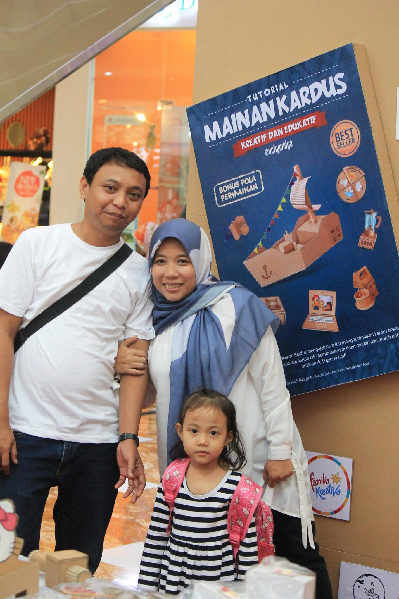 Bunda Uchy and family